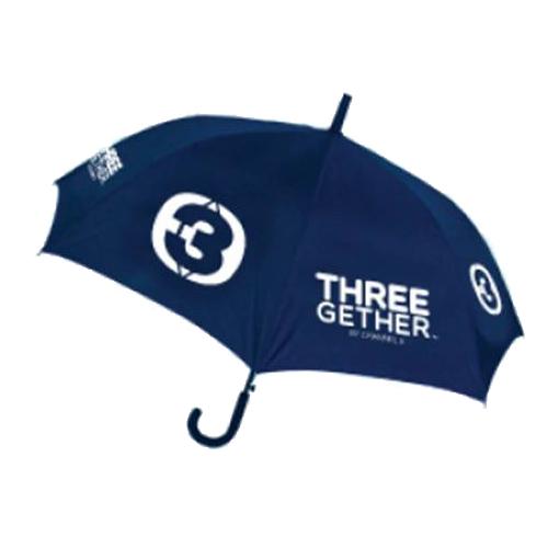 Umbrella Long (Blue) <br />ร่มยาว 24 นิ้ว พร้อมซองเก็บสีน้ำเงิน