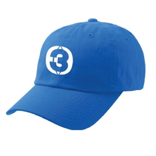 Cap THREE GETHER (Blue) <br />หมวกสีฟ้า