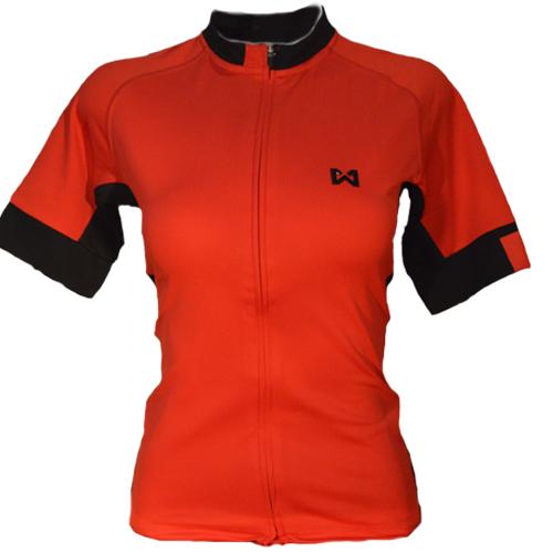 Women's Sportswear Style 4 เสื้อจักรยานผู้หญิง แบบที่ 4 สีแดง