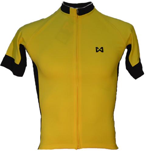 Women's Sportswear Style 4 เสื้อจักรยานผู้หญิง แบบที่ 4 สีเหลือง