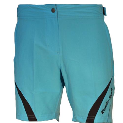 Women's Sportswear Style 3 กางเกงปั่นจักรยานผู้หญิง แบบที่ 3 สีฟ้า