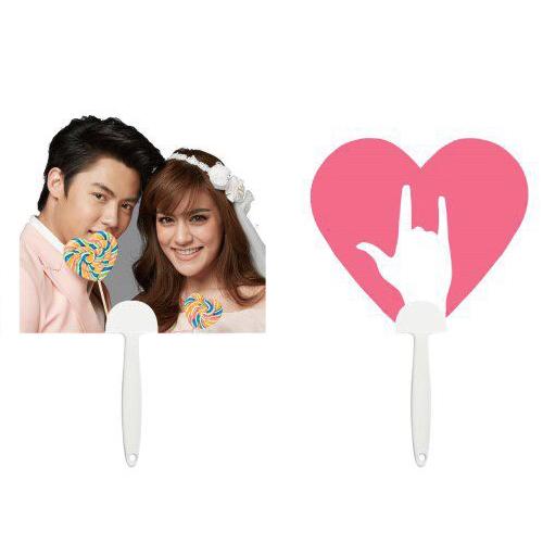 Fan Couple Mark&Kim <br />พัดคู่จิ้น หมาก-คิม