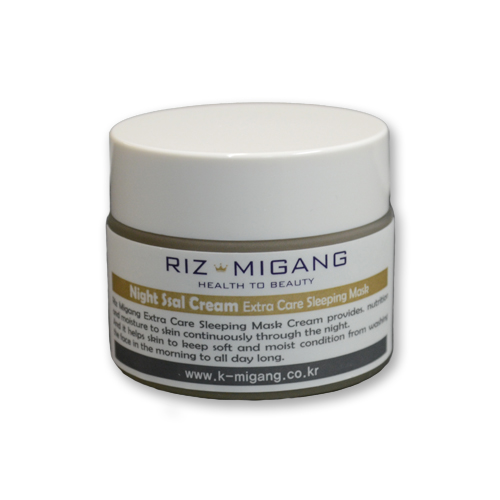 RIZ MIGANG Extra Care Sleeping Mask<br /> มาสค์บำรุุงผิวหน้าก่อนนอน