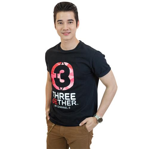 T-Shirt Unisex (Black) เสื้อยืดสีดำ