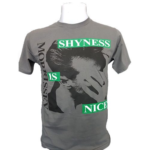 Morrissey Grey Tshirt