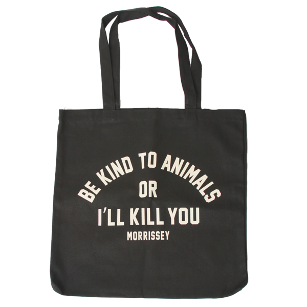 Morrissey  Be Kind To Animals Tote