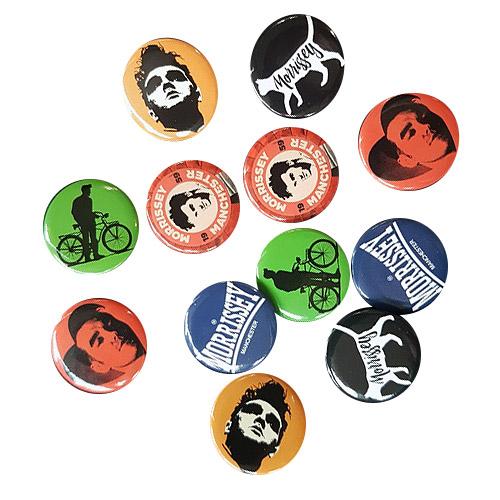 Morrissey Badge Set