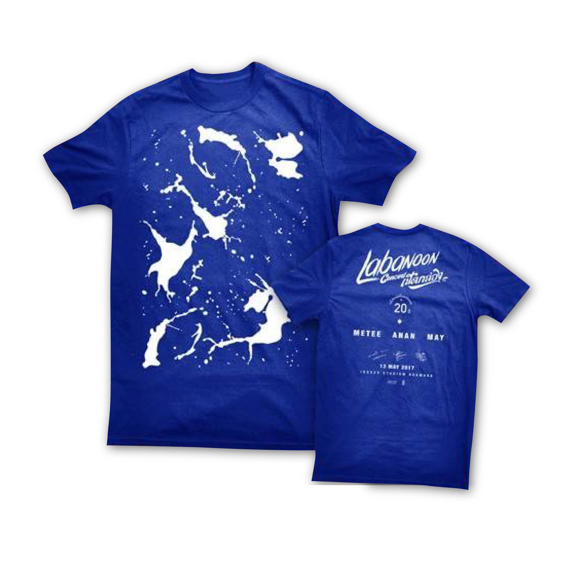 Labanoon เปิดกล่อง T-Shirt สีน้ำเงิน