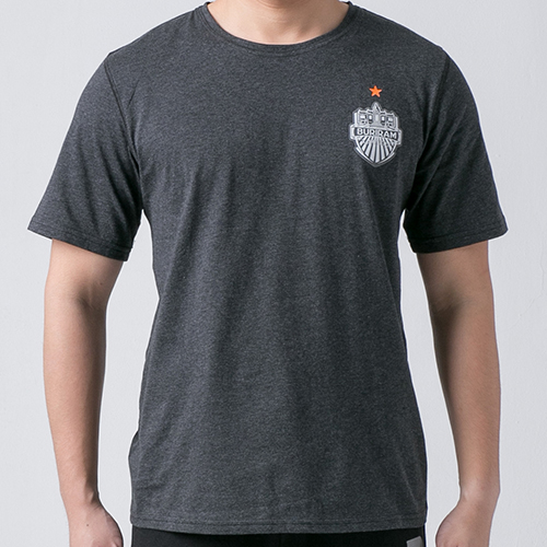 เสื้อ T-shirt โลโก้อกหน้า ดำ