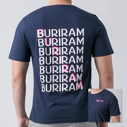 เสื้อ T-shirt GU12 กรม