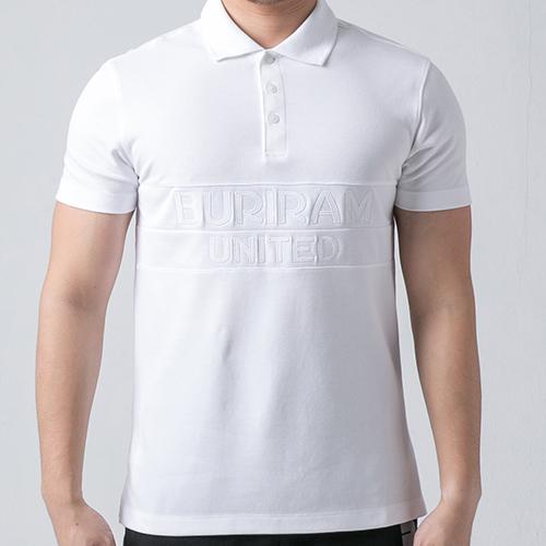 เสื้อโปโล BRUTD (สีขาว /ขาว)