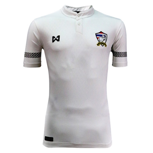 Warrix Player Grade เสื้อฟุตบอลทีมชาติไทย ชุดแข่งสำหรับหนักเตะ สีขาว