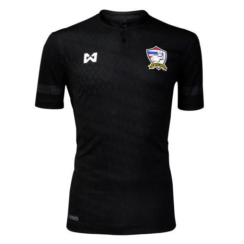 เสื้อแข่งชุดเหย้า ทีมชาติไทย 2017 Fan Grade สีดำ