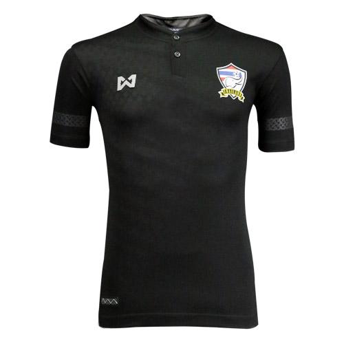 Warrix Player Grade เสื้อฟุตบอลทีมชาติไทย ชุดแข่งสำหรับหนักเตะ สีดำ