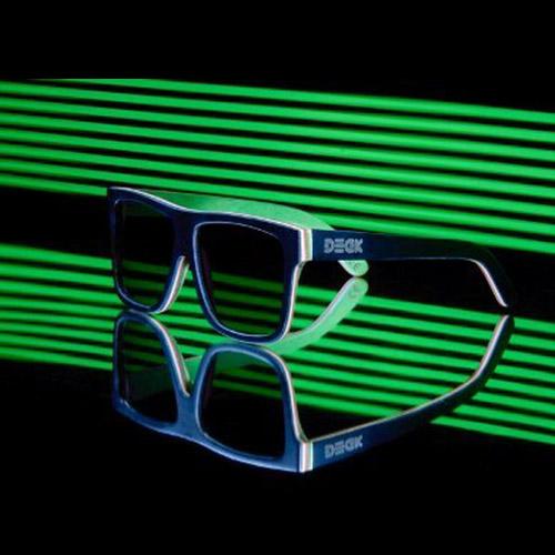 แว่น DECK รุ่น Giant Black Green