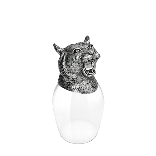 Wine Glass 12 Chinese Zodiac - Tiger