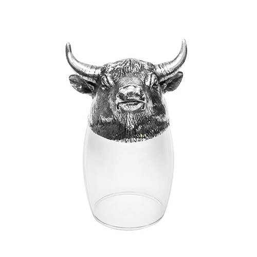 Shot Glass 12 Chinese Zodiac - Bull