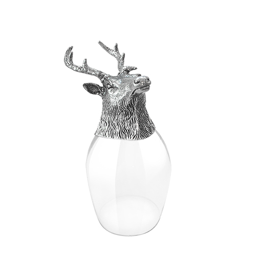 Wine Glass Deer