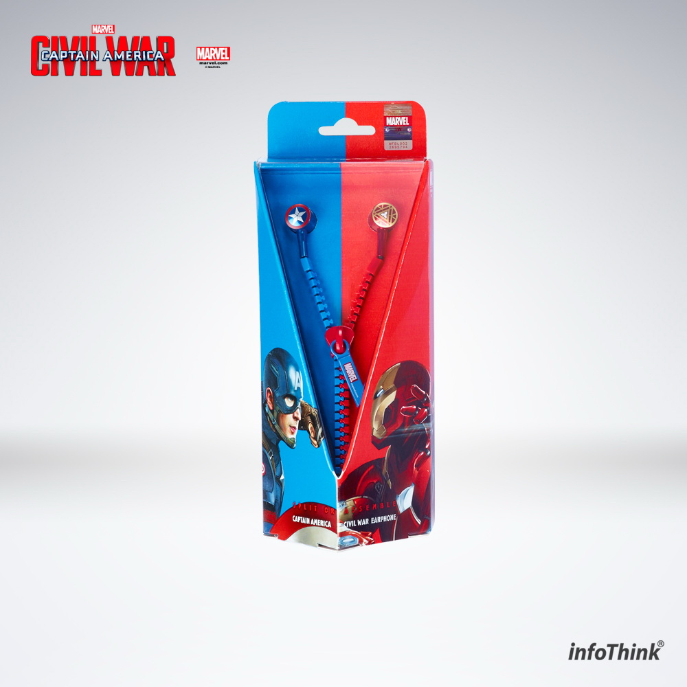 Captain America Ear Phone