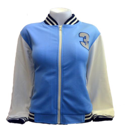 Jacket Channel3 (Blue/Cream) <br />เสื้อแจ็คเก็ตสีฟ้าครีม