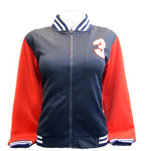 Jacket Channel3 (Navy/Red) <br />เสื้อแจ็คเก็ตสีกรมแดง
