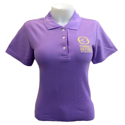 Polo Women (Purple)  <br />เสื้อโปโลผู้หญิงสีม่วง