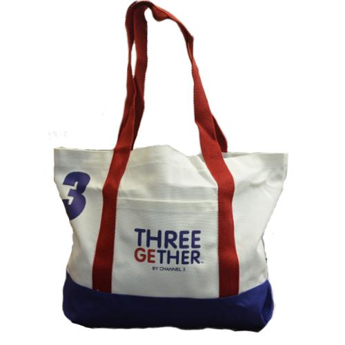 Bag Canvas (White) <br />กระเป๋าแคนวาสสีขาว
