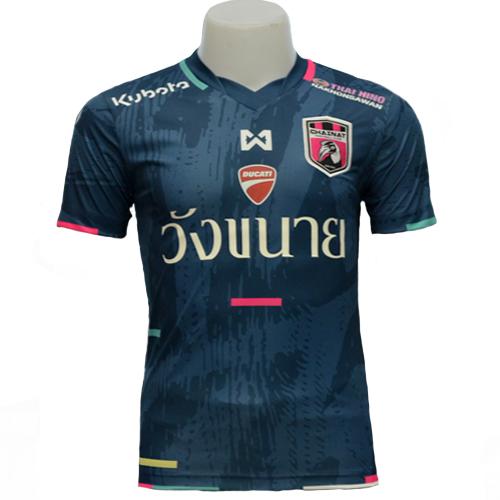T-Shirt CHAINAT FC Away Team (Navy) <br />เสื้อแข่งชัยนาท เอฟซี ทีมเยือน สีกรม