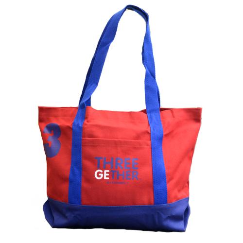 Bag Canvas (Red) <br />กระเป๋าแคนวาสสีแดง