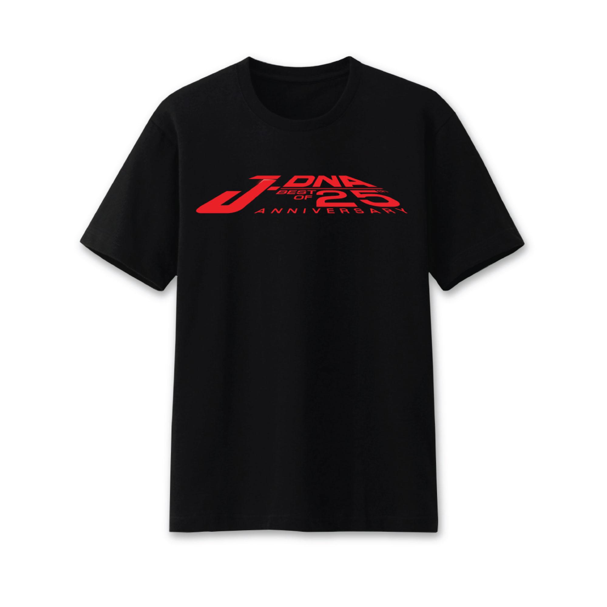 Pre-Order T-Shirt สีดำ Logo J-DNA 25 TH