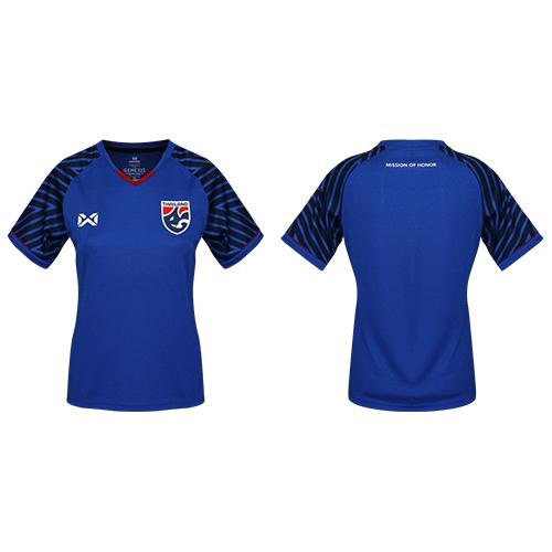 เสื้อเชียร์ทีมชาติไทย 2018 (ผู้หญิง) สีน้ำเงิน